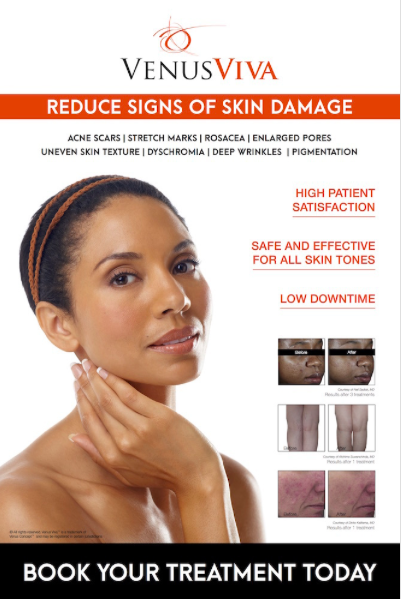 Reduce Signs of Skin Damage Flyer